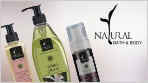 Natural Bath and Body products online