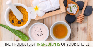 Shop By Best Suited Ingredients for skin