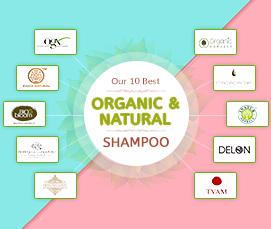 Our 10 Best Organic & Natural Shampoo Haircare Brands in India