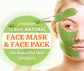 12 Best Natural Face Mask & Face Pack for Beautiful Skin