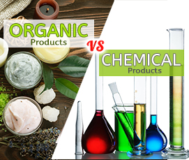 Why Organic Products are better than Chemical Products � Beauty, Food & Health