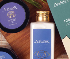 Ananda Spa Ayurvedic Products for Skin & Hair