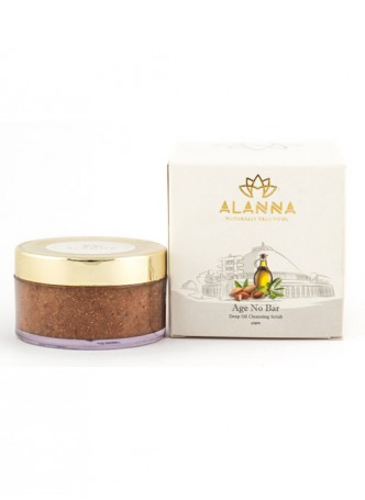 Alanna Almond Age No Bar Facial and Body Scrub