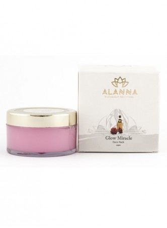 Alanna Glow Miracle - Rose and Moroccan Oil Face Pack