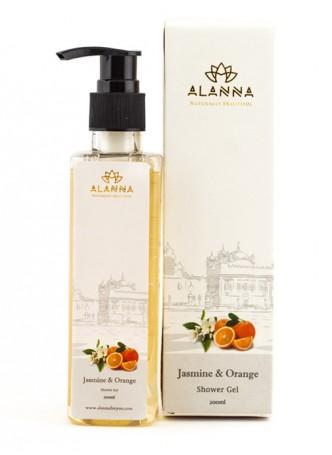 Alanna Jasmine Orange Shower Gel