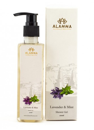 Alanna Lavender Mint Shower Gel