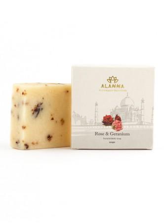 Alanna Rose and Geranium Soap (Pack of 2)