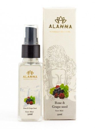 Alanna Rose and Grapeseed Face Mist (Pack of 2)