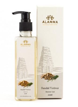 Alanna Sandal Vetiver Shower Gel