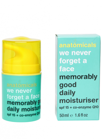 Anatomicals Memorably Good Daily Moisturiser
