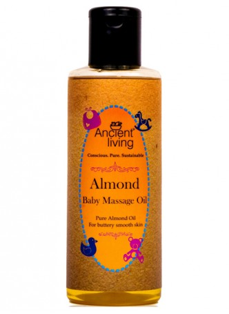 Ancient Living Almond Baby Massage Oil-200ml