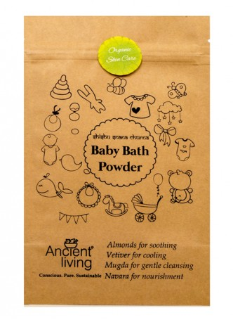 Ancient Living Baby Bath Powder (Pack of 2)