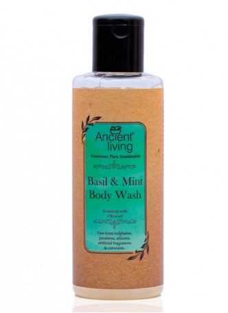 Ancient Living Basil & Mint Body Wash-200ml (Pack of 2)