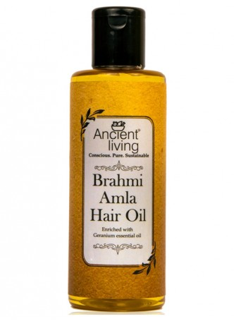 Ancient Living Brahmi & Amla Hair Oil-100ml (Pack of 2)