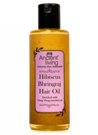Ancient Living Hibiscus & Bhringraj Hair Oil-200ml (Pack of 2)