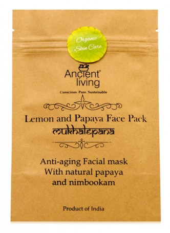 Ancient Living Lemon & Papaya Face Pack (Pack of 2)