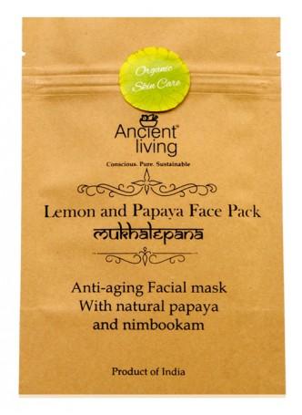 Ancient Living Lemon & Papaya Face Pack (Pack of 2)