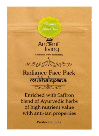 Ancient Living Radiance Face Pack-40gm (Pack of 2)