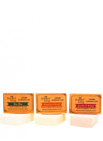 Ancient Living Luxury Handmade Soap Combo Pack 2