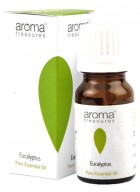 Aroma Treasures Eucalyptus 100% Pure Natural Essential Oil (Pack of 2)