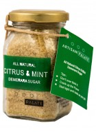 Artisan Palate Natural Citrus & Mint Demerara sugar (Pack of 2)