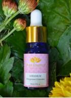 Aura Essence Pure Geranium Essential Oil (Pack of 2)