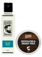 Beardo The Irish Royale Beard Wash (100ml) & Beard Wax (50g) Combo