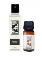 Beardo The Black Velvette Beard Oil (30ml) & Beard Wash (100ml) Combo