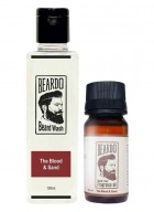Beardo The Blood & Sand Beard Oil (30ml) & Beard Wash (100ml) Combo
