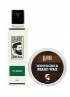 Beardo The Classic Beard Wash (100ml) & Beard Wax (50g) Combo