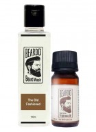 Beardo The Old Fashioned Beard Oil (30ml) & Beard Wash (100ml) Combo