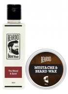 Beardo The Blood & Sand Beard Wash (100ml) & Beard Wax (50g) Combo