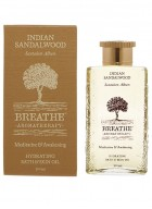 Breathe Aromatherapy Indian Sandalwood Bath And Skin Oil