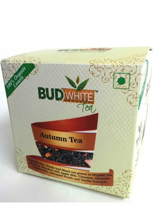 Budwhite Teas Autumn Black-20 Pyramid Teabags