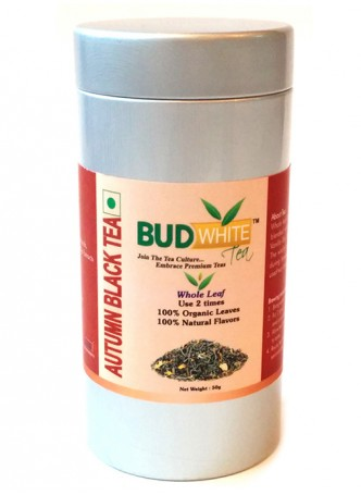 Budwhite Teas Autumn Black-50 Gm Loose Tin