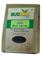 BudWhiteTeas Assam Black Supreme Tea (50 Gms Pack)