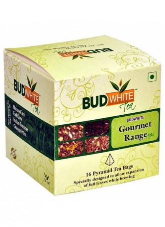 BudWhiteTeas Combo Pack of Gourmet Tea (4x4 Tea Bags)