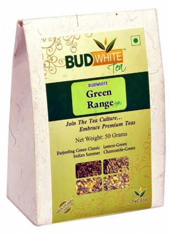 BudWhiteTeas Combo Pack of Green Tea Range (4x12.5 Gms Loose Tea)