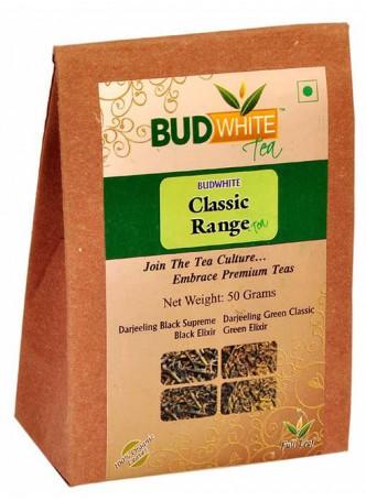 BudWhiteTeas Combo Pack of Tea in Classic Range Flavors (4x12.5 Gms Loose Tea)
