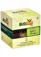 BudWhiteTeas Combo Pack of Tea in Spices Flavors (4x4 Tea Bags)