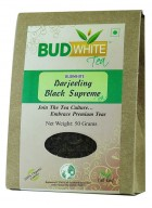 BudWhiteTeas Darjeeling Black Supreme Tea (50 Gms Pack)