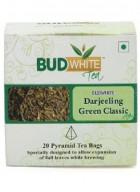 BudWhiteTeas Darjeeling Green Classic Tea (20 Pyramid Tea Bags)