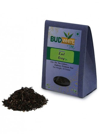 BudWhiteTeas Earl Grey Tea (50 Gms Pack)