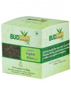 BudWhiteTeas English Breakfast Tea (20 Pyramid Tea Bags)