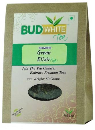BudWhiteTeas Green Elixir Tea (100 Gms Pack)