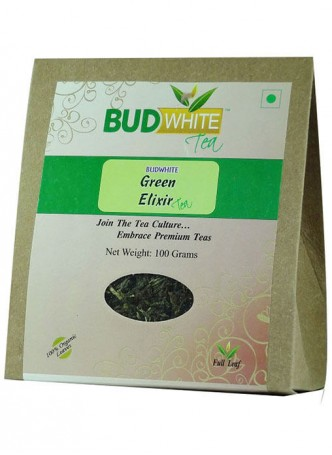 BudWhiteTeas Green Elixir Tea (50 Gms Pack)