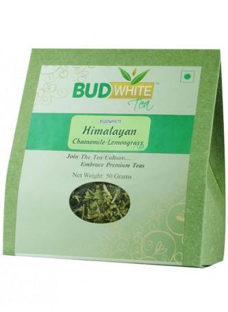 BudWhiteTeas Himalayan Chamomile-Lemongrass Herbal Tea (50 Gms Pack)