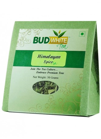 BudWhiteTeas Himalayan Spice Herbal Tea (50 Gms Pack)