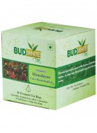BudWhiteTeas Himalayan Tulsi Rhododendron Tea (20 Pyramid Tea Bags)