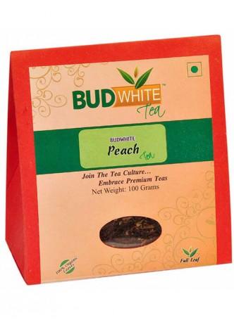 BudWhiteTeas Peach Tea (100 Gms Pack)